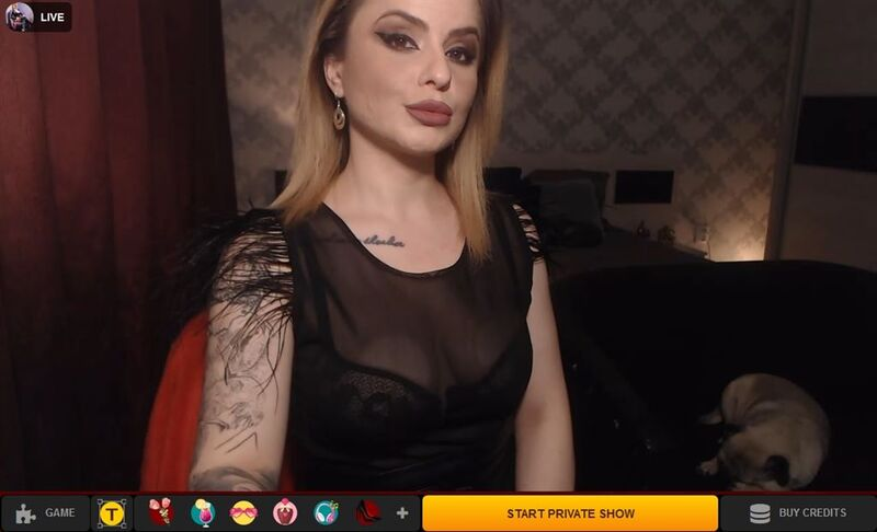 LiveJasmin hosts fetish cam2cam shows