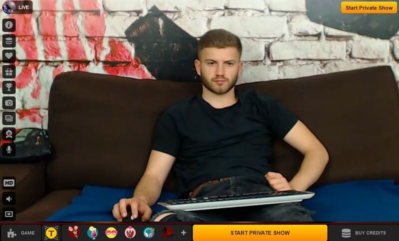 Private chats with hot gays paid with a debit card on LiveJasmin