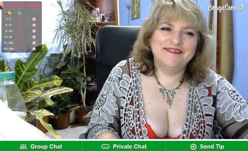Cam2cam shows given by stunning mature models on BongaCams